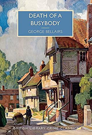 book cover of Death of a Busybody
