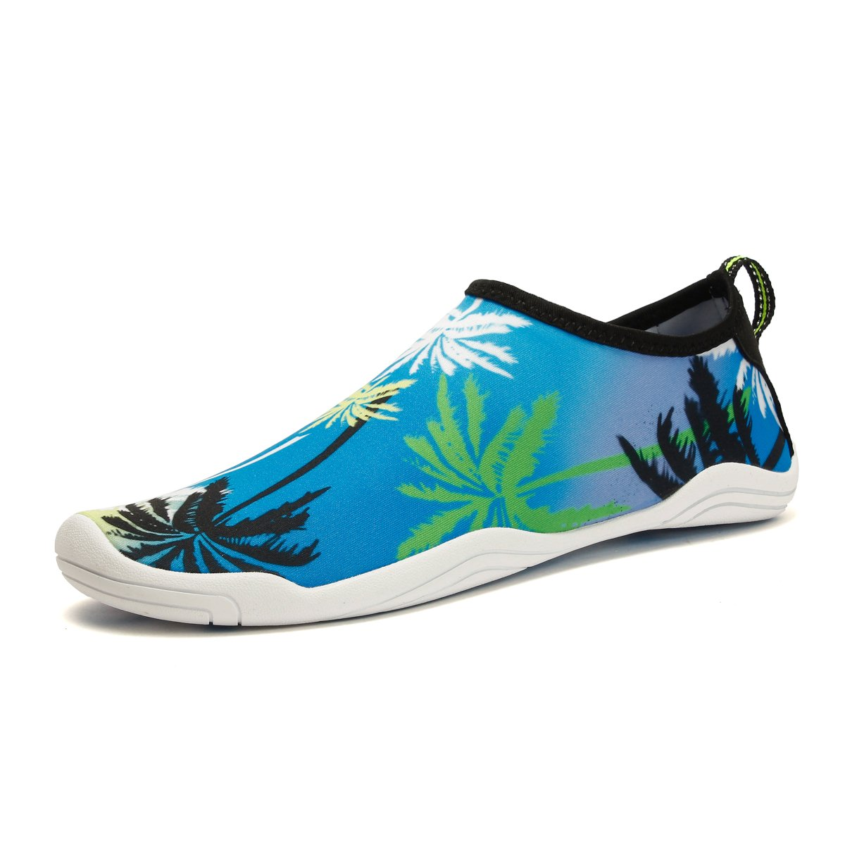 CJZHE Couple Swimming Wading Non-Slip Shoes Casual Fashion Stretch Lightweight Beach Shoes (10 B (M) US, Blue 1)