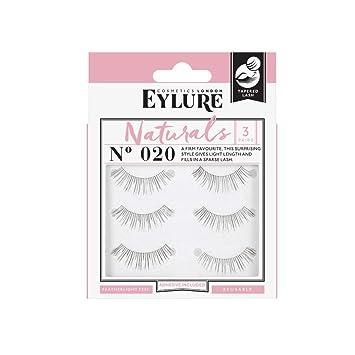 e382c2b5afd Amazon.com : (Multi Pack- 3 Pairs) Eylure Naturalites #020 False Eyelashes,  Black : Fake Eyelashes And Adhesives : Beauty
