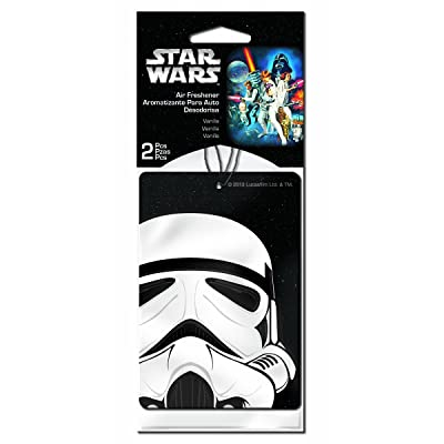 Plasticolor 005546R01 Star Wars Stormtrooper Car Air Freshener - 2 Pack: Automotive
