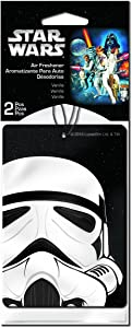 Plasticolor 005546R01 Star Wars Stormtrooper Car Air Freshener - 2 Pack