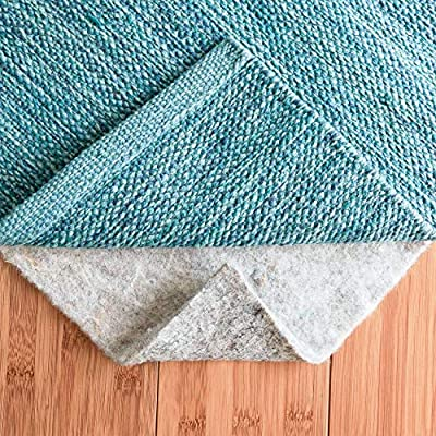 Rug Pad Central Extra Thick-Cushion, Comfort and Protection 100% Felt Rug Pad