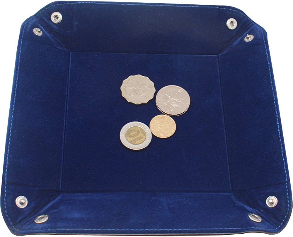 Monete per riporre Gioielli boshiho Chiavi Telefono Vassoio svuotatasche in Vera Pelle