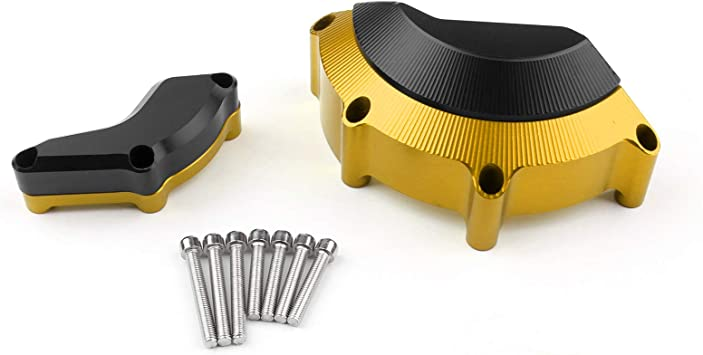 Artudatech Engine Stator Slider Case Cover Guard Protector For Yamaha YZF R6 2008-2015 Gold