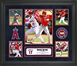 Shohei Ohtani Los Angeles Angels Framed 5-Photo Collage with a Piece of Game-Used Baseball - MLB Player Plaques and Collages
