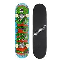 Skateboard Osprey complet débutants double kick trick