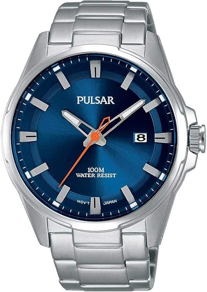 Pulsar Sport–Reloj de Pulsera analógico de Cuarzo Acero Inoxidable ps9505X 1