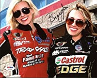 Brittany Force NHRA Drag Racing Autographed 8x10 Photo - PSA/DNA Authentic by Sports Collectibles