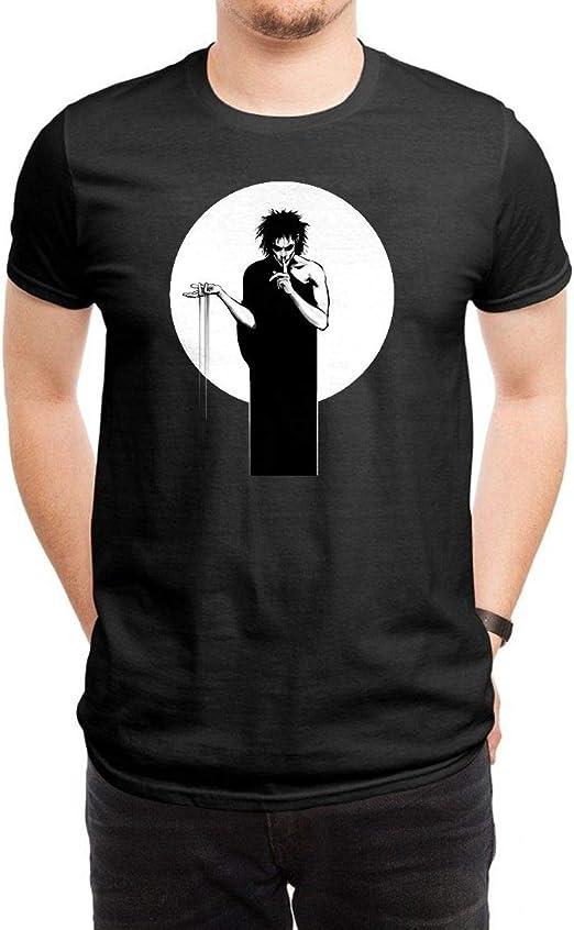 XIAOMINGYI Neil Gaiman Quotes Sandman Mens Black T-Shirt