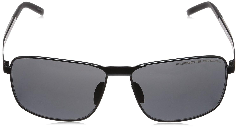 Amazon.com: Porsche Design Mens P8643 P/8643 D Blue Square ...