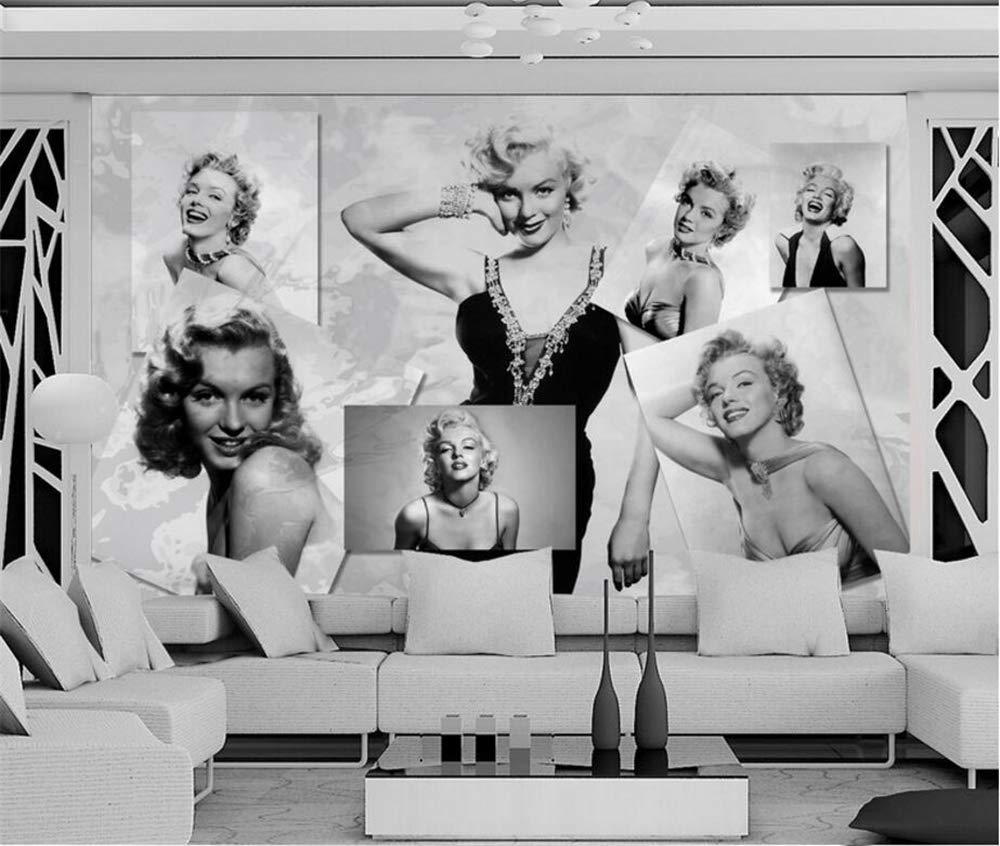 Yesky 3d Marilyn Monroe Wallpaper 10 M X 0 53 M Silk Wallpaper