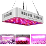 ColoFocus 600W LED Indoor Plants Grow Light Kit, Full Spectrum with UV&IR for Indoor Greenhouse Plants Veg and Flower, Plants(10W Leds 60Pcs)