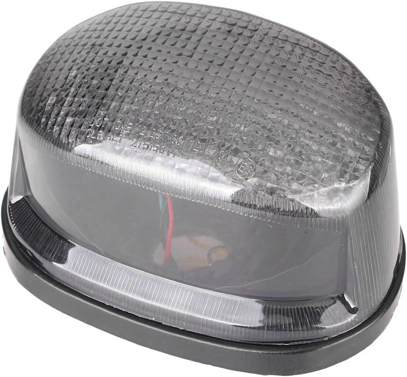 Mallofusa Motorcycle Integrated Taillight LED Brake Tail Light Compatible for Suzuki Boulevard M50 2005-2008// Marauder 800 1600 1997 1998 1999 2000 2001 2002 2003 2004 Smoke Lens