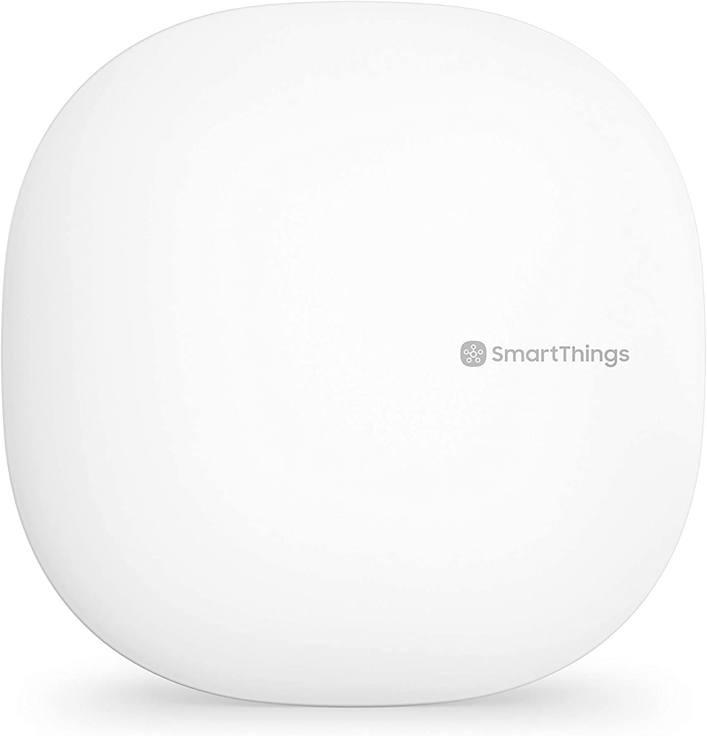 Samsung SmartThings Hub 3rd Generation [GP-U999SJVLGDA] Smart Home Automation Hub Home Monitoring Smart Devices - Alexa Google Home Compatible - White (Renewed)