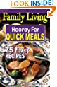 Family Living: Hooray for Quick Meals  (Leisure Arts #5003)