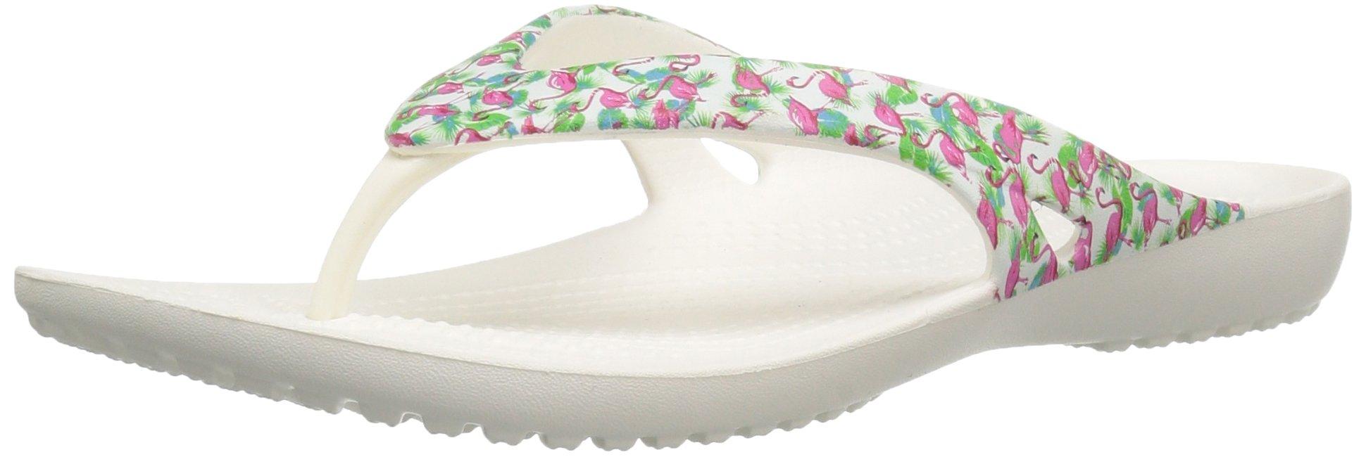 Crocs Women's Kadee Ii Graphic W Flip Flop, Flamingo, 7 M US