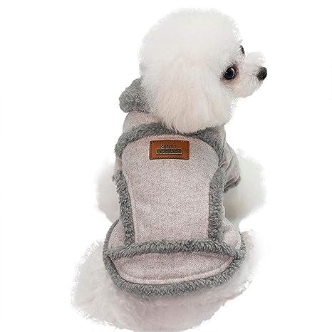 TYJY Ropa para Perros De Invierno Acolchado para Mascotas Abrigo para Perros Chaqueta para Perros Ropa