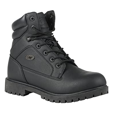 Lugz Men's Tactic SP Work Boot,Black Perma Hide,US 7.5 D