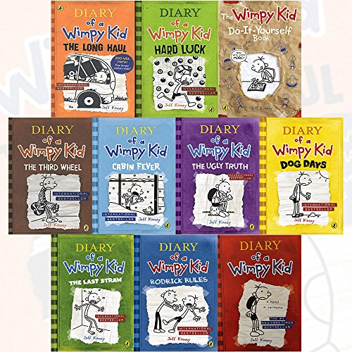 For sale diary wimpy kid collection books set oc2o diary of a wimpy kid collection 10 books solutioingenieria Gallery