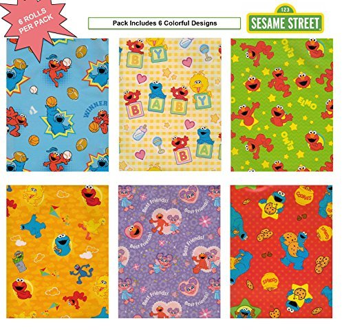 elmo wrapping paper birthday buyer's guide for 2019