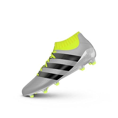 sports shoes 14358 3bcc4 adidas Ace 16.1 Primeknit FG, Botas de fútbol para Hombre Amazon.es  Zapatos y complementos