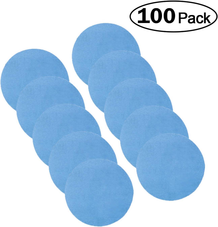 3 Hook and Loop Sanding Disc Choose from 60-600 Grit Hurricane BLUE Pack of 100