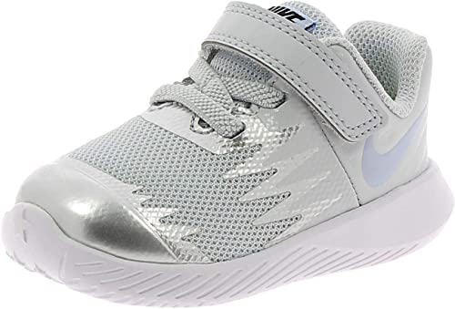 prisa Gran Barrera de Coral Cerdo  NIKE Star Runner TDV Kids Sports ShoesSilver 907256003 22 EU: Amazon.co.uk:  Shoes & Bags