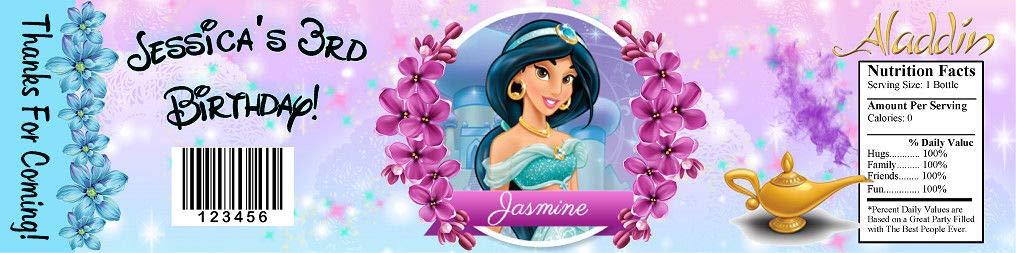 princess jasmine aladdin birthday party