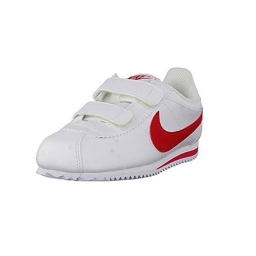 Nike 749487-103 Zapatos de primeros pasos, Bebé-niños, Blanco (White / University Red), 30 2/3: Amazon.es: Zapatos y complementos