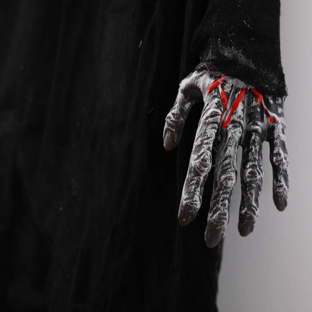 Yezijin Creepy Scary Skeleton Ghost Props Halloween Party Horror Scene Decoration by Yezijin halloween props