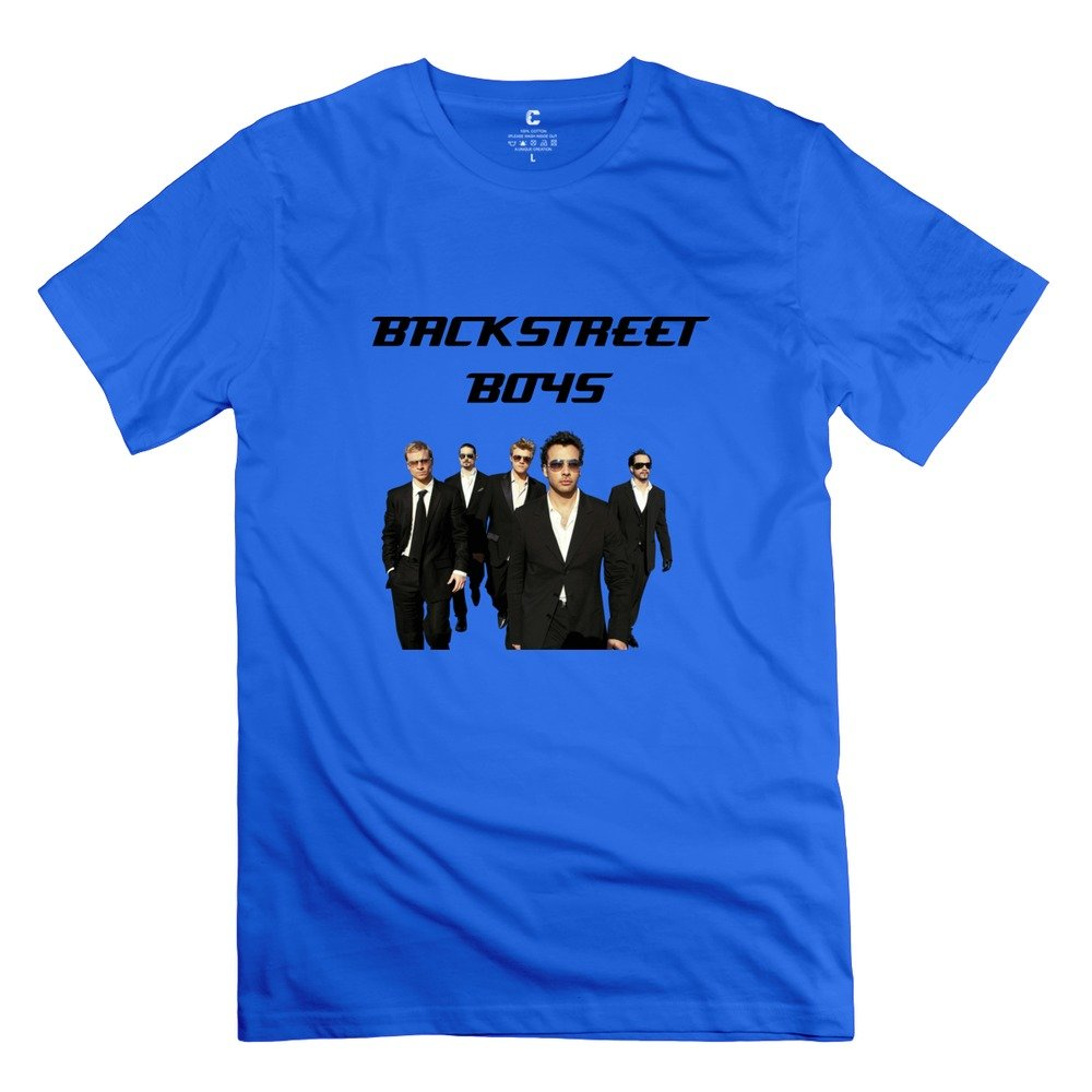 Boy Backstreet Boys Design O Neck RoyalBlue T-Shirt by Mjensen