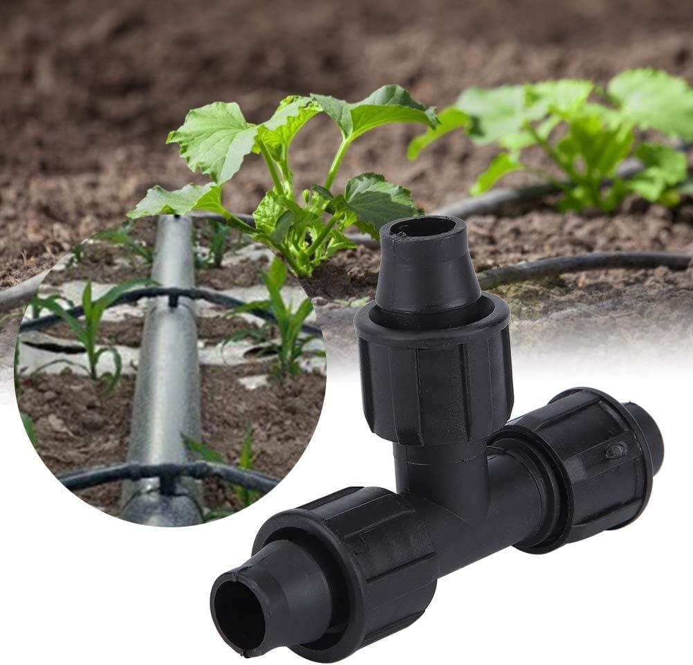 AUNMAS 20Pcs Raccordo per Tubo a T Raccordo a Tre Vie Adattatore per irrigazione a Goccia Raccordi per Tubi di gocciolamento Accessori per lirrigazione