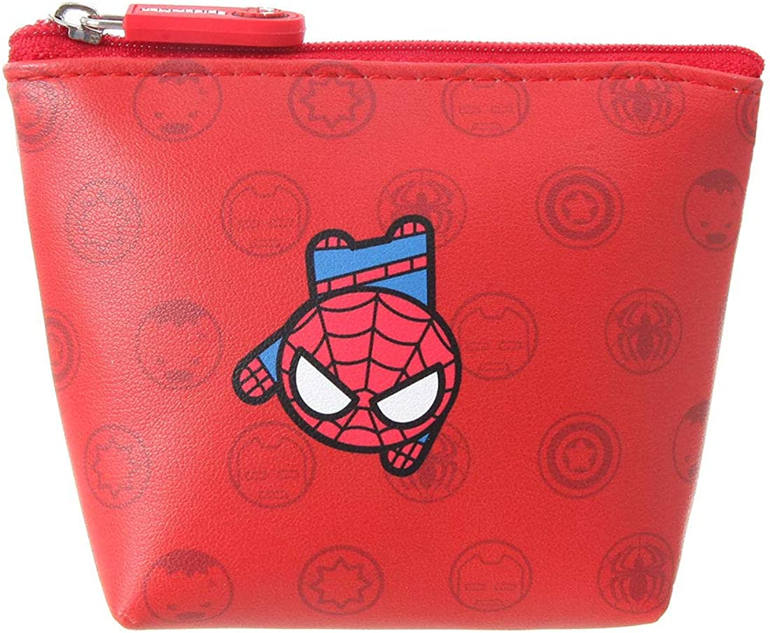 Marvel vinyl purse with wristlet