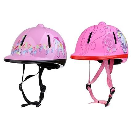Sporting Goods Safety Approved Children Kids Horse Riding Equestrain Helmet Hat Adjustable Equestrian