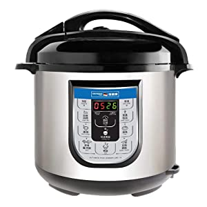 German Pool® 120V 6 Litre Ultimate Rice Cooker (URC-16) Bundled with Stainless Steel Inner Pot (IP6)