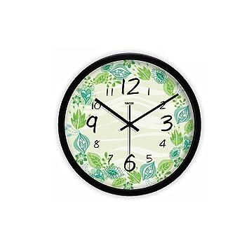 Amazon.de: Wall Clock Kreative Runde Wanduhren Wohnzimmer ...
