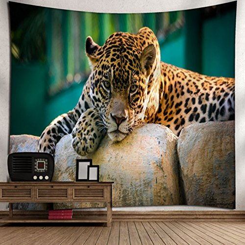 KRWHTS Leopard Animals - Wall Tapestry Art For Home Decor Wall Hanging Tapestry150130cm(60