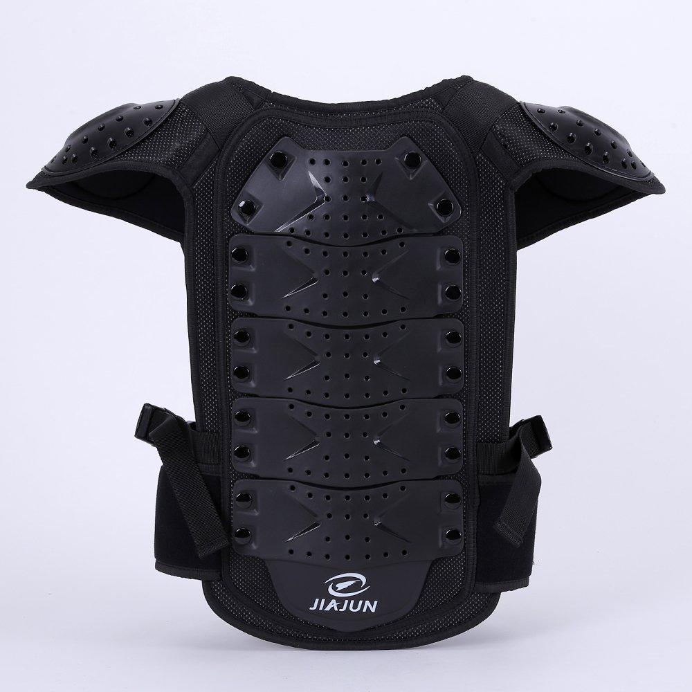JIAJUN Children Bicycle Motorcycle Armor Armor Vest Back Protector Mens Armored Street Racing Motorcycle Jacket