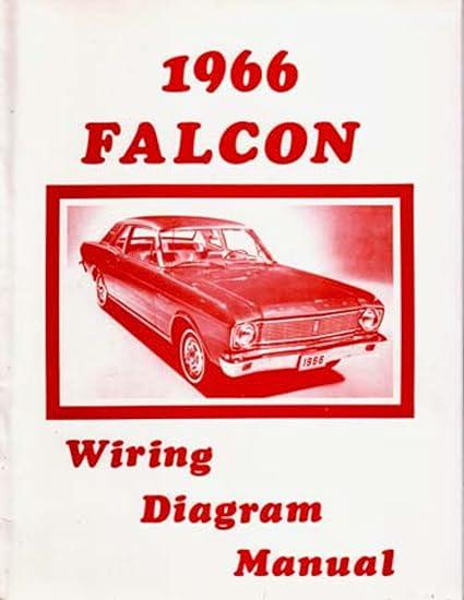 amazon com: bishko automotive literature 1966 ford falcon electrical wiring  diagrams schematics mechanic oem book: automotive