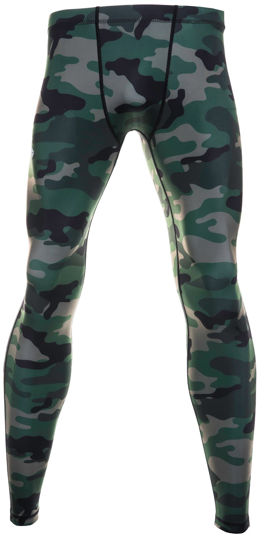 Malla Larga de Running - para hombres - Color - Camouflage ...