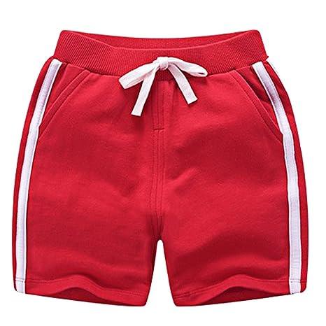 f9447e4c7b Eozy Baby Shorts Junge Kurze Sporthose Baumwolle Sommer Bermuda Shorts:  Amazon.de: Bekleidung