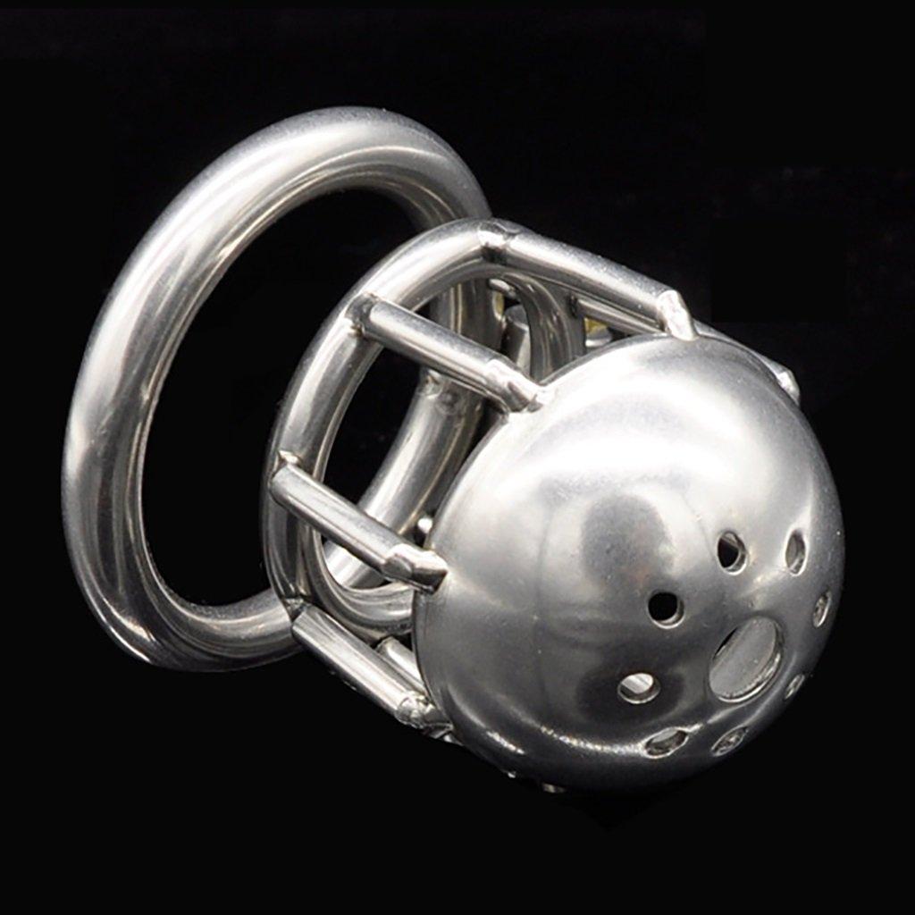 Cinturón de Chastity castidad Chastity de jaula, juguetes sexuales, cerradura de castidad de acero inoxidable de los hombres, dispositivo de cinturón de tirantes para hombres juguetes sexuales para mujeres A217 593614
