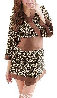 Paplan Costume Glamorous leopardo giapponese Kimono Style Cosplay LBSCA28/4/leopard