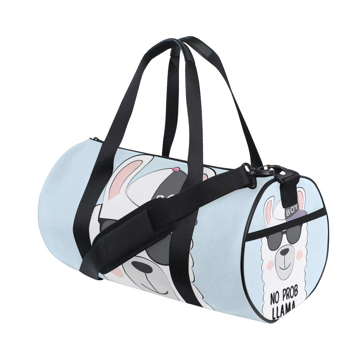 Llama Unisex's Duffel Bag Travel Tote Luggage Bag Gym Sports Luggage Bag