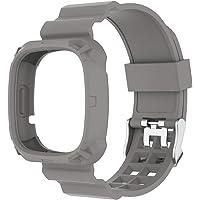 NA. Sense Polsband Zachte Siliconen Bandjes Voor Fitbit Versa 3 Smart Horloge Band