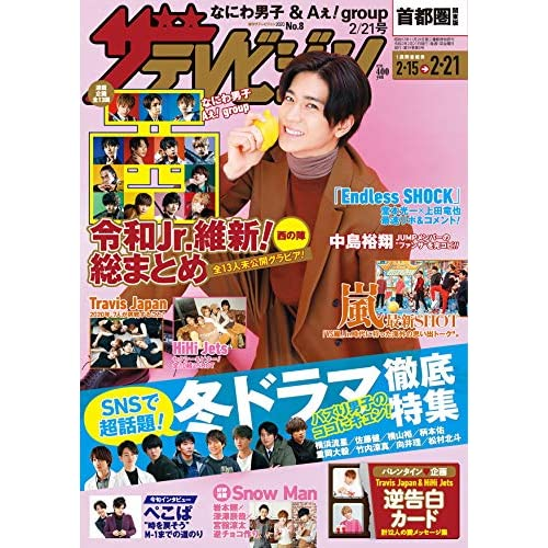 ザテレビジョン 2020年 2/21号 表紙画像