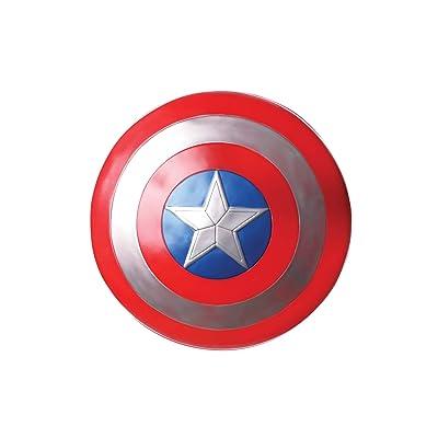 """Rubie's Marvel Avengers: Endgame Captain America 12"""" Shield: Toys & Games"""