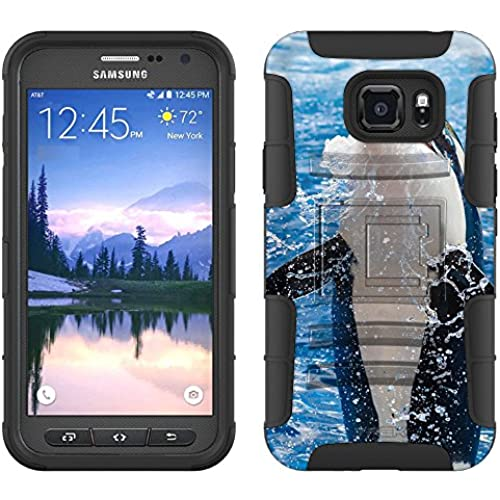 Samsung Galaxy S7 Active Armor Hybrid Case Jumping Whale 2 Piece Case with Holster for Samsung Galaxy S7 Active Sales