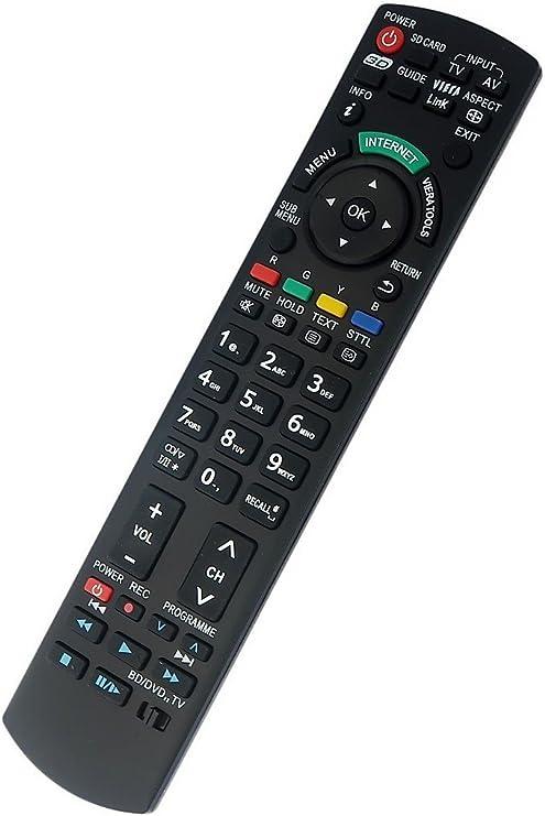 Mando a Distancia de Repuesto para Panasonic Viera TV LCD: Amazon ...