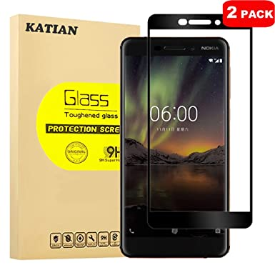Cell Phone Accessories For Nokia 6 2018 Best 100% Genuine Tempered Glass Guard Screen Protection